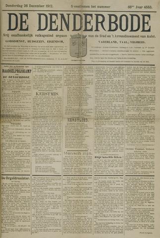 De Denderbode 1912-12-26