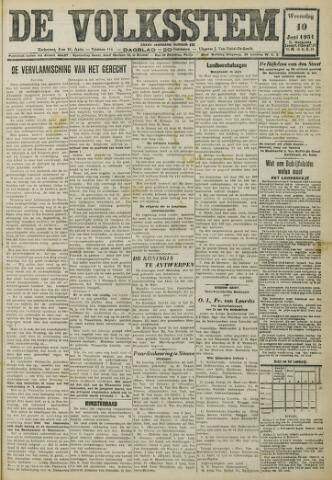 De Volksstem 1931-06-10
