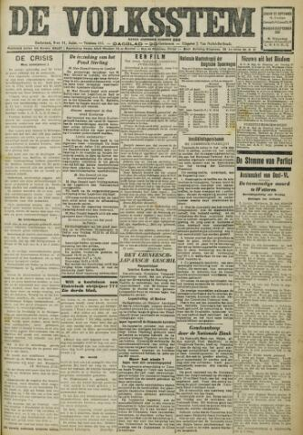 De Volksstem 1931-09-27