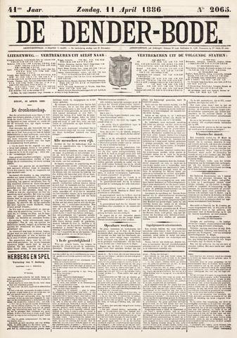 De Denderbode 1886-04-11