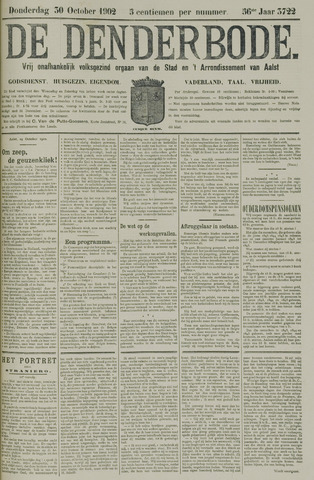 De Denderbode 1902-10-30