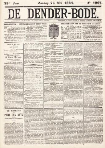 De Denderbode 1884-05-25
