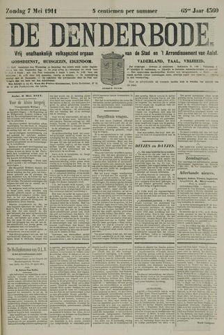 De Denderbode 1911-05-07