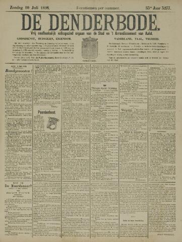 De Denderbode 1898-07-10