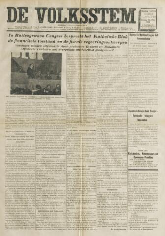 De Volksstem 1938-04-25