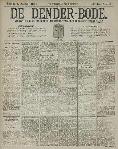 De Denderbode 1890-08-17