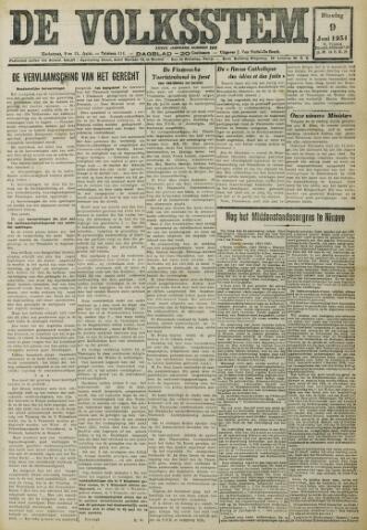 De Volksstem 1931-06-09