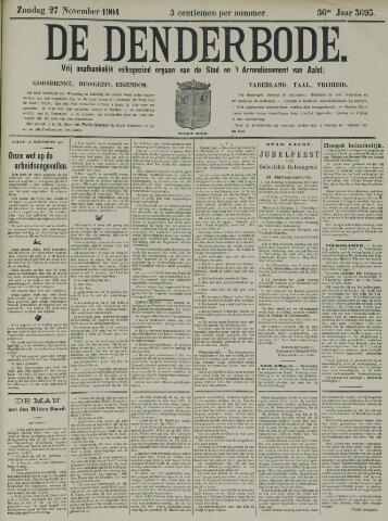 De Denderbode 1904-11-27