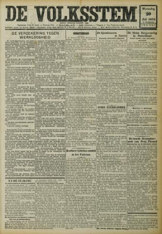 De Volksstem 1932-07-20