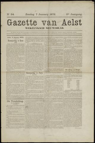 De Gazet van Aalst 1872