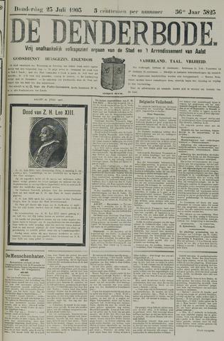 De Denderbode 1903-07-23