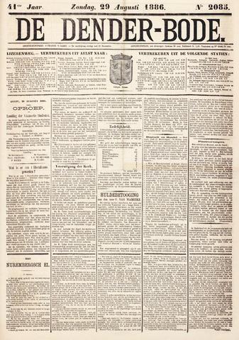 De Denderbode 1886-08-29