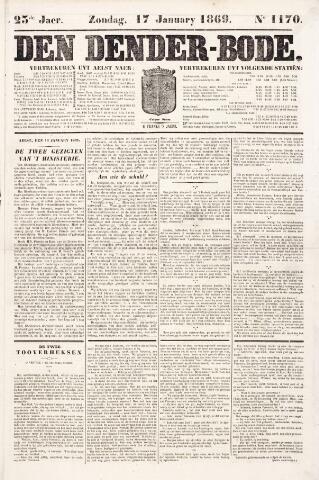 De Denderbode 1869-01-17
