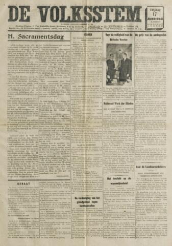 De Volksstem 1938-06-17