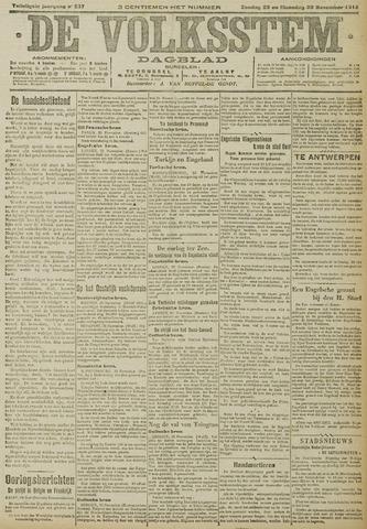 De Volksstem 1914-11-29