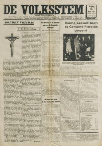 De Volksstem 1938-04-15