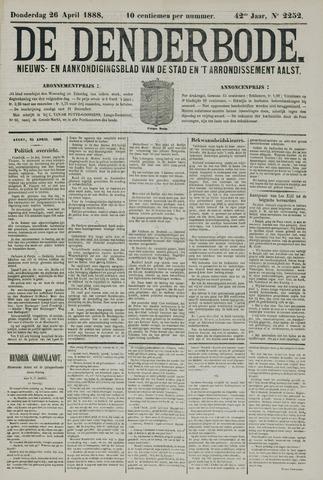 De Denderbode 1888-04-26