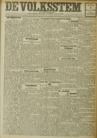 De Volksstem 1923-11-03