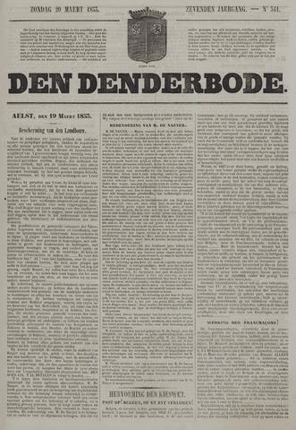 De Denderbode 1853-03-20