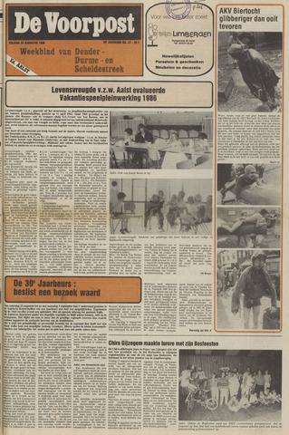 De Voorpost 1986-08-22