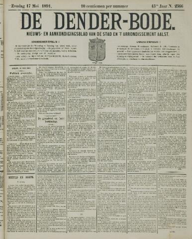 De Denderbode 1891-05-17
