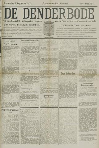 De Denderbode 1912-08-01