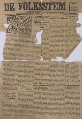 De Volksstem 1939