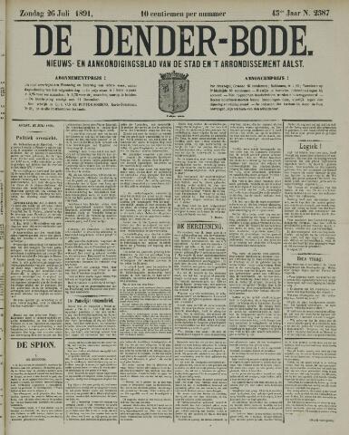 De Denderbode 1891-07-26