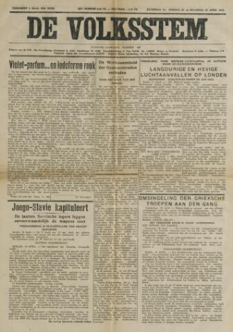De Volksstem 1941-04-19