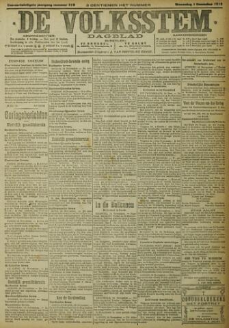 De Volksstem 1915-12-01