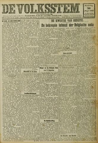 De Volksstem 1923-08-30