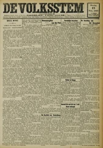 De Volksstem 1923-02-13