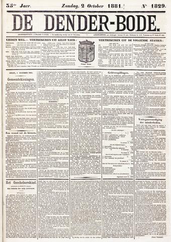 De Denderbode 1881-10-02