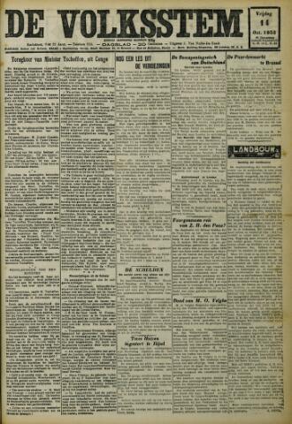 De Volksstem 1932-10-14