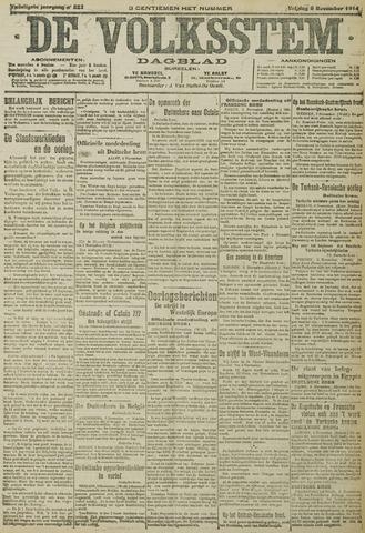 De Volksstem 1914-11-06