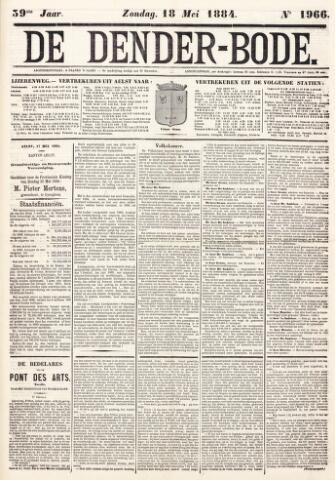 De Denderbode 1884-05-18