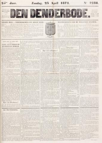 De Denderbode 1871-04-23