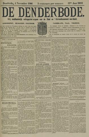De Denderbode 1906-11-01