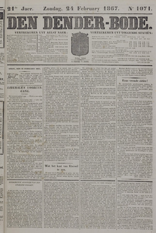 De Denderbode 1867-02-24