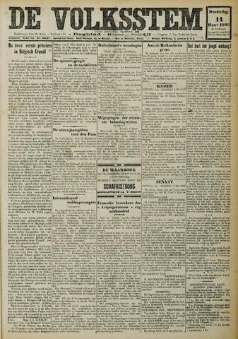 De Volksstem 1926-03-11