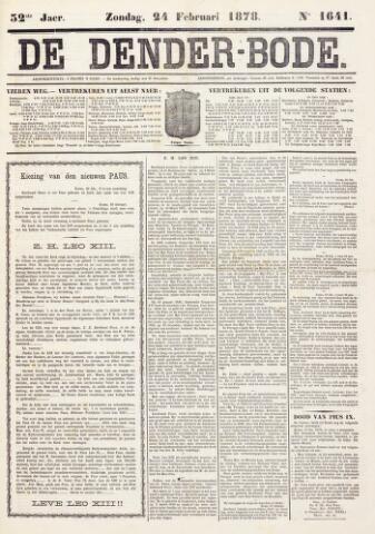De Denderbode 1878-02-24