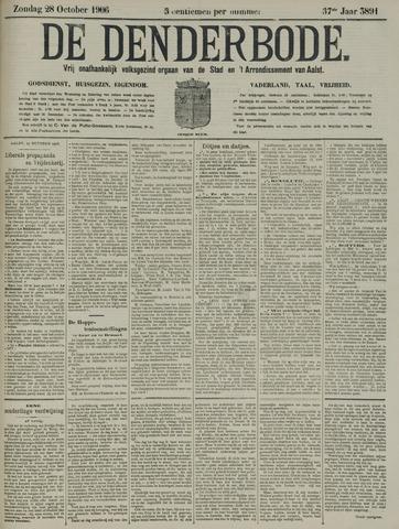 De Denderbode 1906-10-28