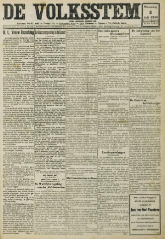 De Volksstem 1930-07-02