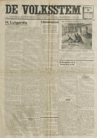 De Volksstem 1938-06-18
