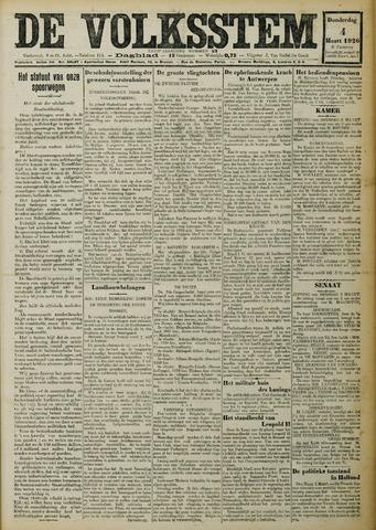 De Volksstem 1926-03-04
