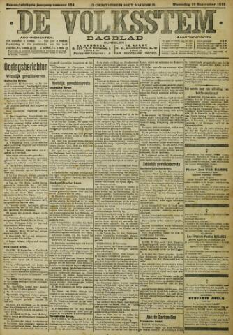 De Volksstem 1915-09-15