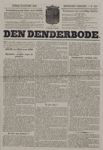 De Denderbode 1859-01-30