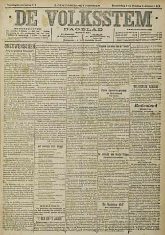De Volksstem 1914-01-01