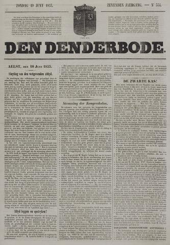 De Denderbode 1853-06-19
