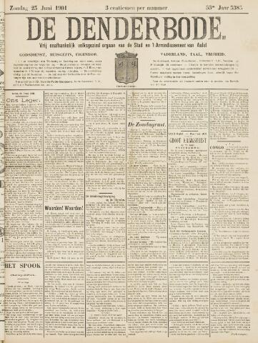 De Denderbode 1901-06-23